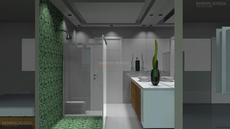 cores para ambientes internos modelos banheiro