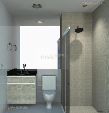 comprar objetos de decoração modelos banheiros pequenos