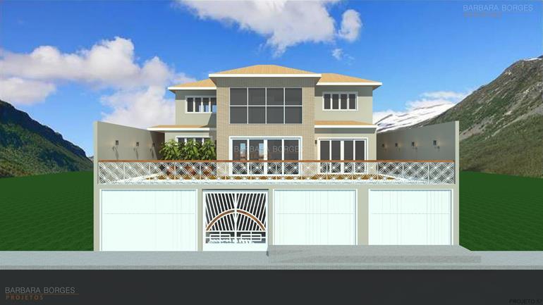 Modelos casas 3 quartos barbara borges projetos Modelo de viviendas para construir