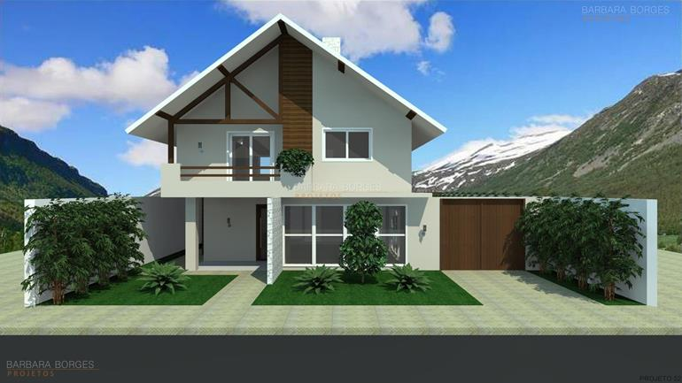 Modelos casas 3 quartos barbara borges projetos for Modelos de casas procrear clasica