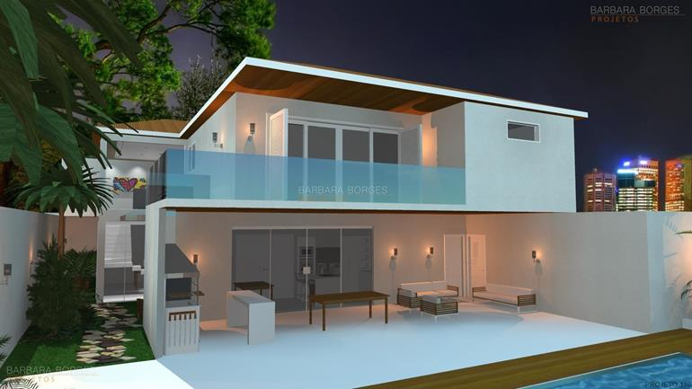 Modelos casas 3 quartos barbara borges projetos for Modelos jardines para casas pequenas