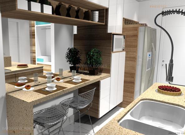 cozinhas pequenas americanas modelos cozinha