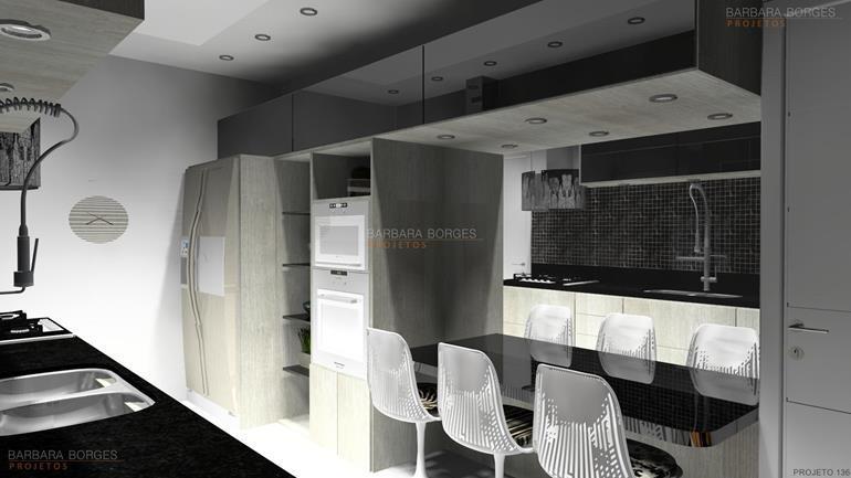 decoração de ambiente modelos cozinhas
