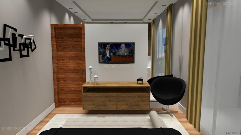 decorar ambientes modelos quartos casal