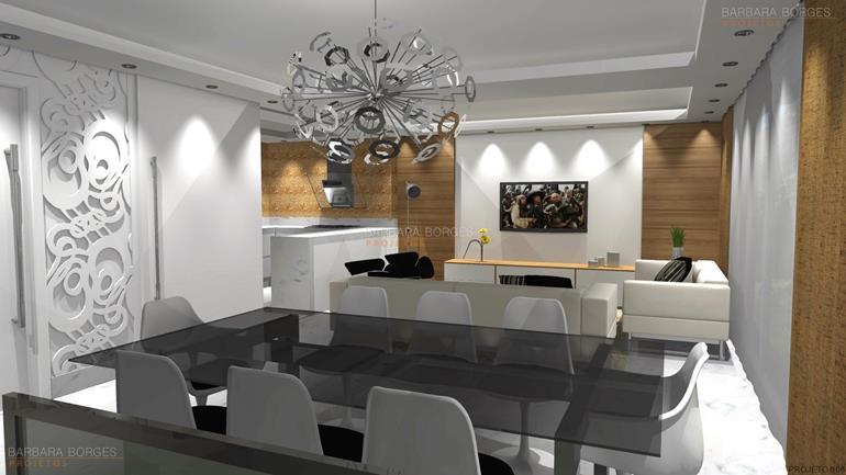 decoração varandas modulados projeto personalizado 3D