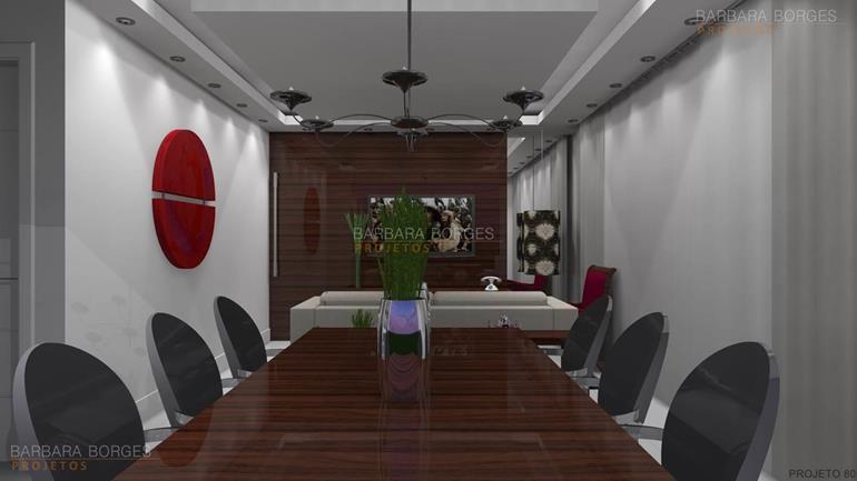 iluminação sala de jantar moveis luxo