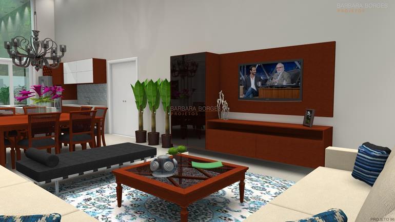 ideias para decoração de quarto moveis madeira