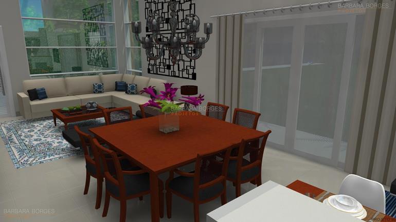interiores de casas modernas moveis modernos