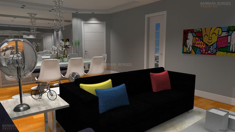 ideias de decoração de quarto moveis modulados