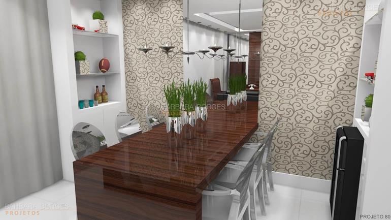 mesas de jantar pequenas moveis planejados apartamentos pequenos
