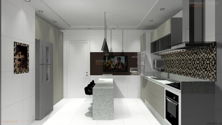 ideias de decoração de quarto moveis planejados cozinha