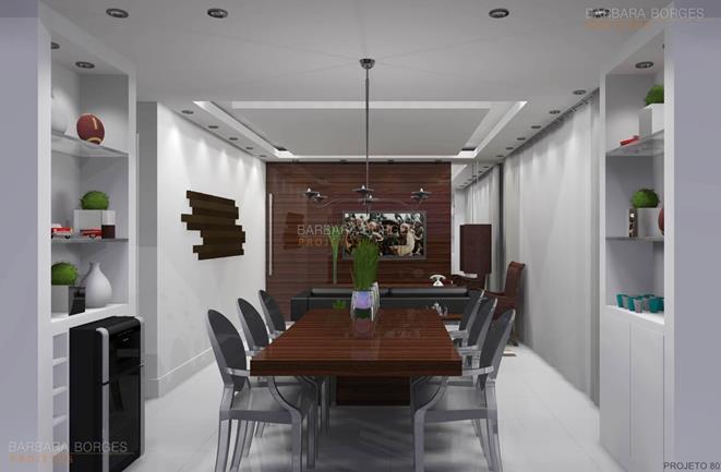 modelos de mesas de jantar moveis planejados favorita