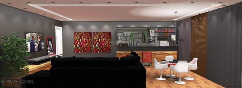 interiores de casas modernas moveis planejados goiania