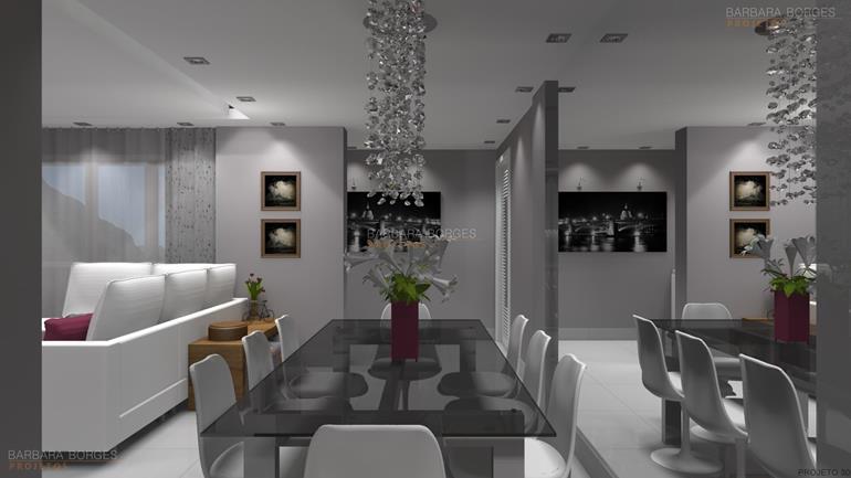 mesa para home office moveis planejados sala