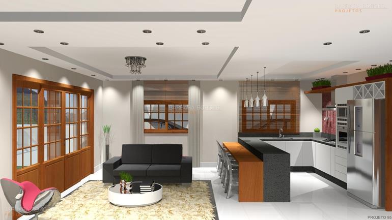 modelos de salas de jantar moveis projetados