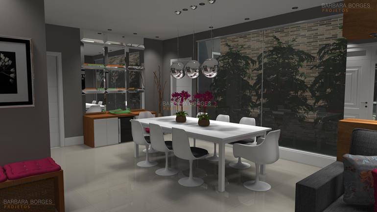 modelos de salas de jantar moveis sala estar
