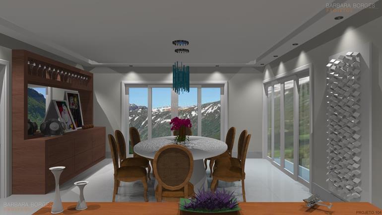 móveis e decoração moveis sala jantar