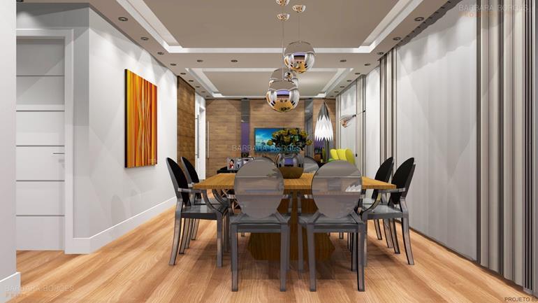pisos para quartos pendentes sala jantar