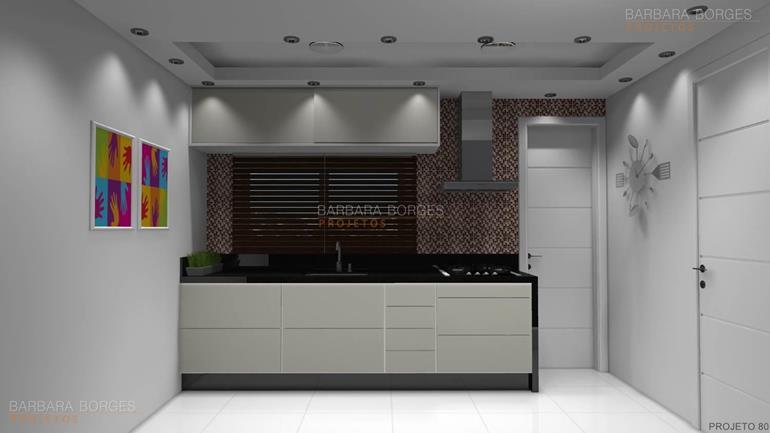 Pia Cozinha Gabinete  Barbara Borges Projetos -> Gabinete De Banheiro Diy