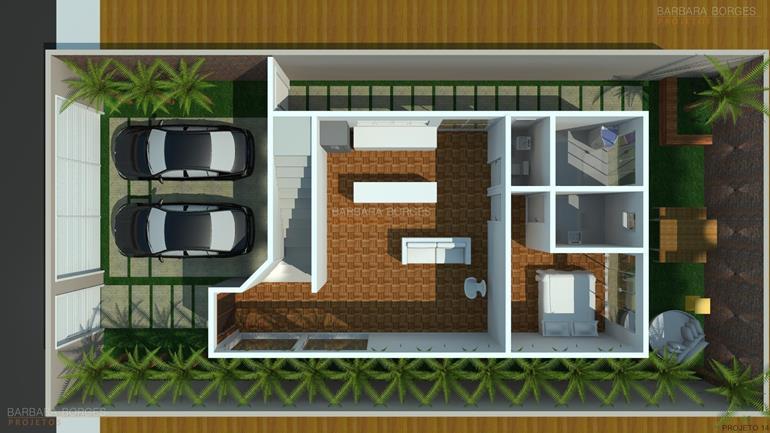 Planta casa 2 suites 1 quarto barbara borges projetos for Plantas para casa