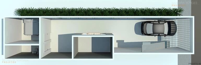 planta casa ambientes integrados