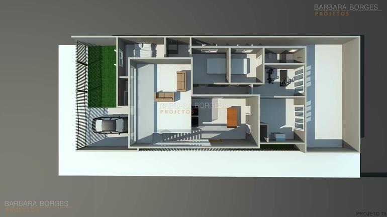 quarto de criança menina planta casa ambientes integrados