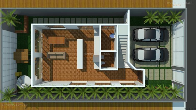 projeto de casa 3 quartos planta casa design moderno