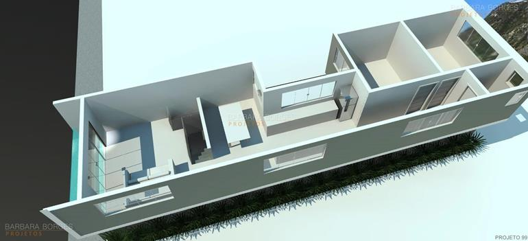 planta casa design moderno