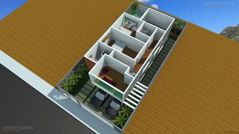 quarto de criança menina planta casa fachada tijolinho