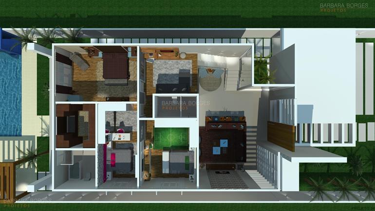 projeto de eletrica planta casa geminada quartos