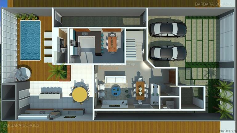 quartos casal planejados planta casa geminada quartos