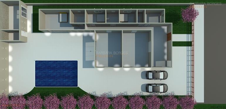portal de decoração planta casa moderna