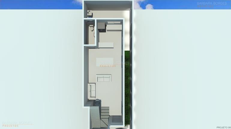 planta casa moderna