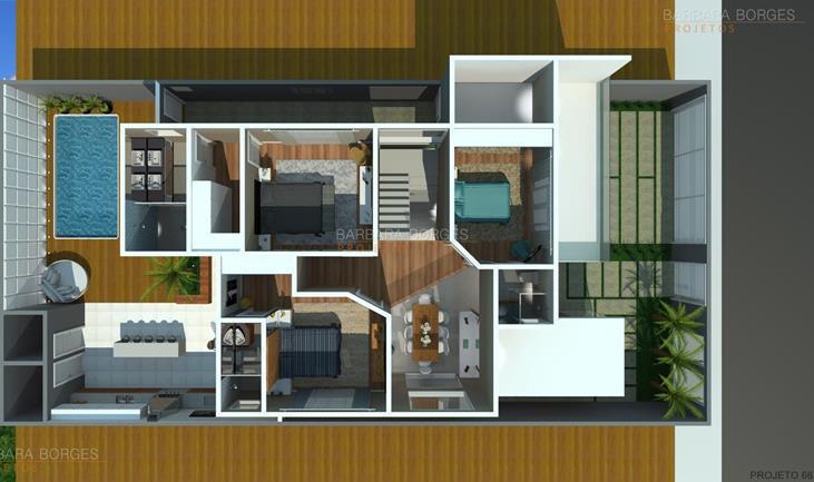 quartos completos de bebe planta casa moderna