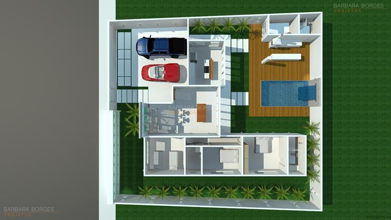 projeto de eletrica planta casa pequena