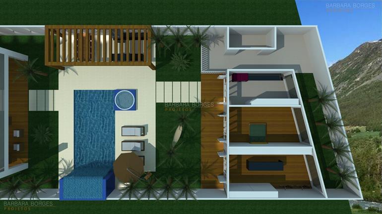 quarto de menina e menino juntos planta casa pequena