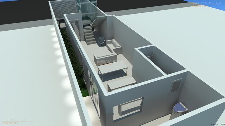 planta casa pequena
