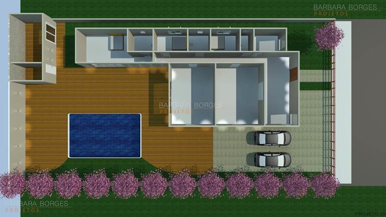 projeto de casa 3 quartos planta casa popular 46 m2
