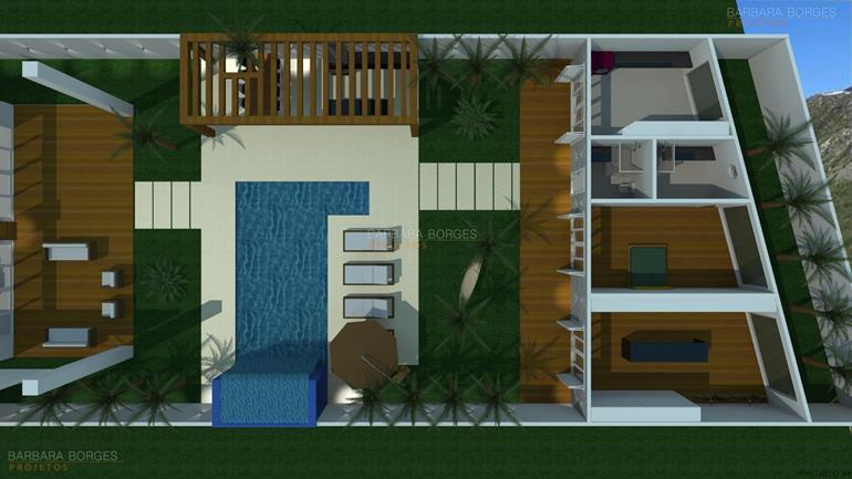 quarto infantil menino e menina planta casa popular 46 m2