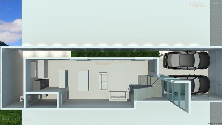 planta casa popular 46 m2