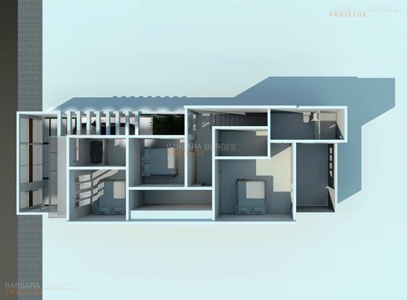 projeto de eletrica planta casa portao fechado