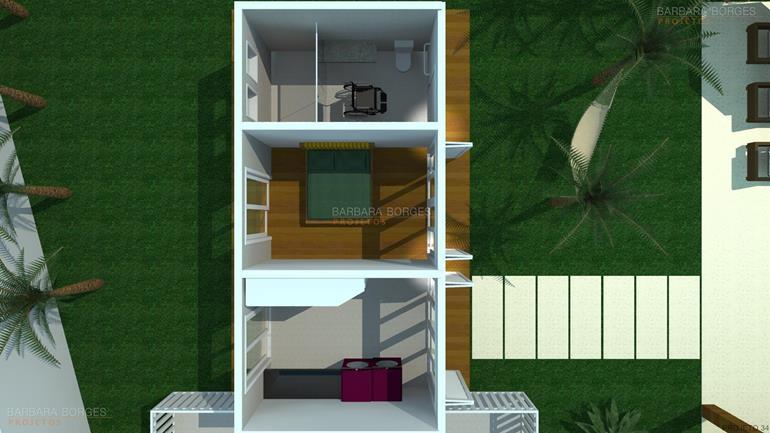 quartos casal planejados planta casa simples moderna