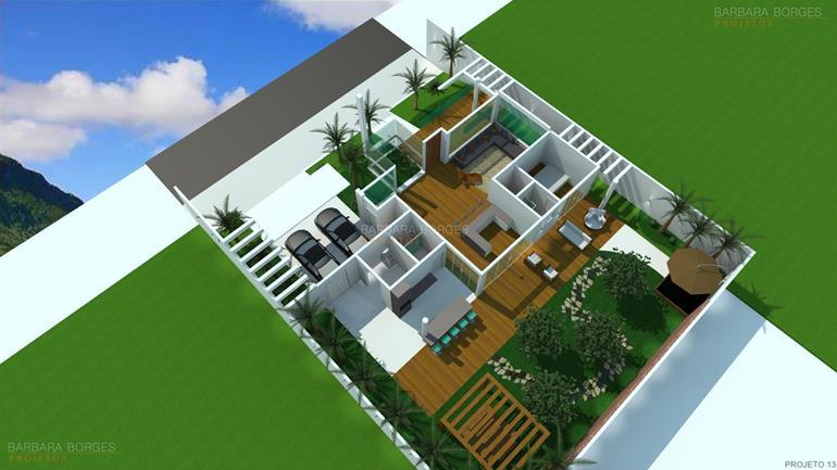 Planta casa sobrado l piscina barbara borges projetos for Plantas para piscinas