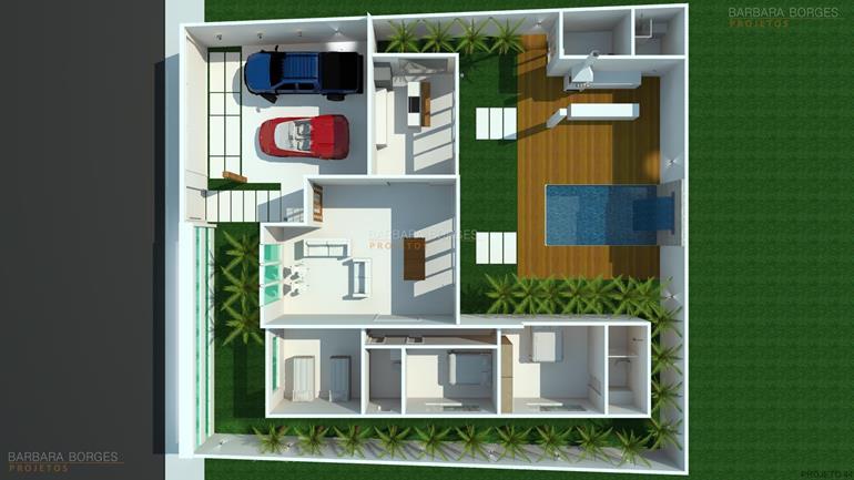 quartos casal pequenos planta casa suite closet