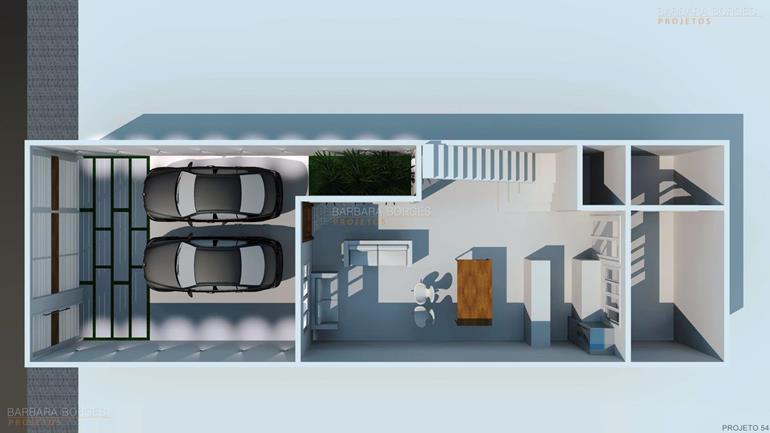quarto infantil modulado planta casa telhado aparente