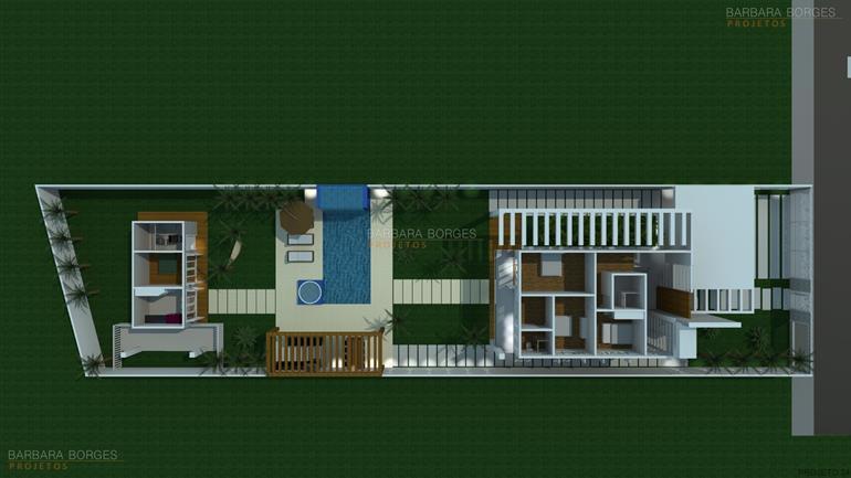 quartos de casal pequenos decorados planta casa telhado aparente