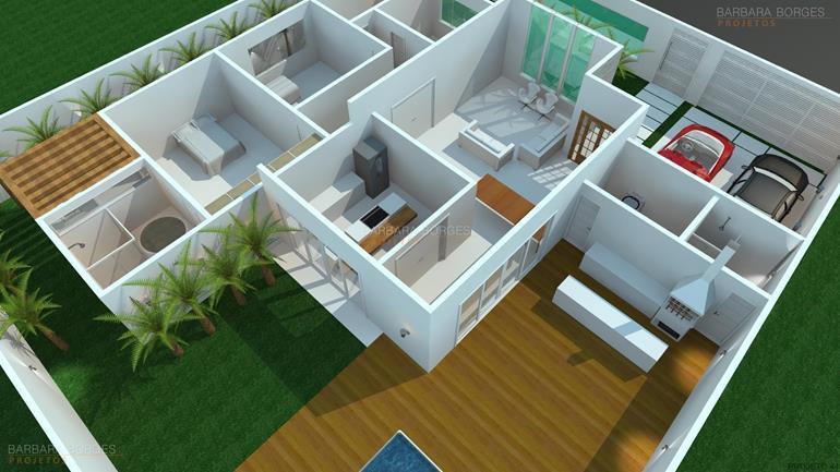quartos de bb planta casa terrea 3 quartos