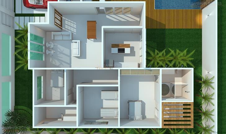 quartos completos de bebe planta casa terrea