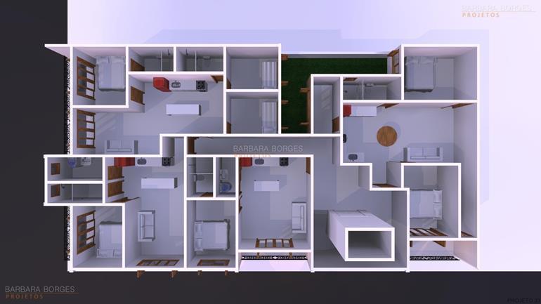 quartos decorados para meninas planta casa terrea c 2 dormitorios