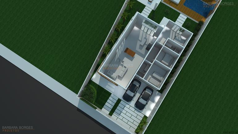 planta casa terrea c 2 dormitorios